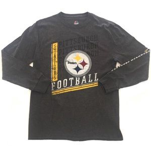 Vintage Pittsburgh Steelers Long Sleeve